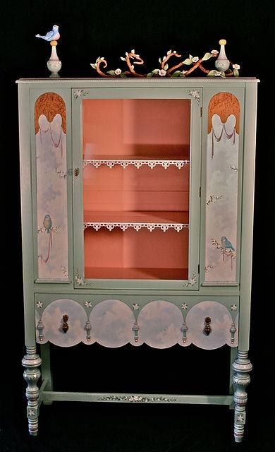 Decorative Children's Cabinet