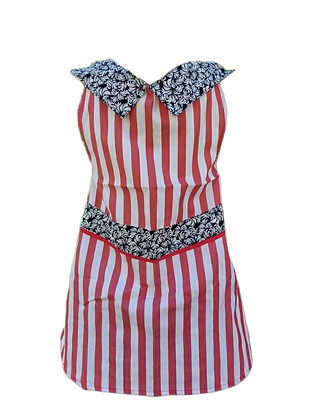 Vibrant Stripes Apron