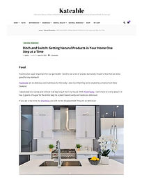 Ditch and Switch: Getting Natural Products in Your Home One Step at a Time