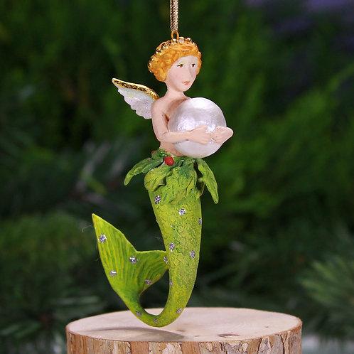 MERMAID MINI ORNAMENT - Pearl Mer-Girl