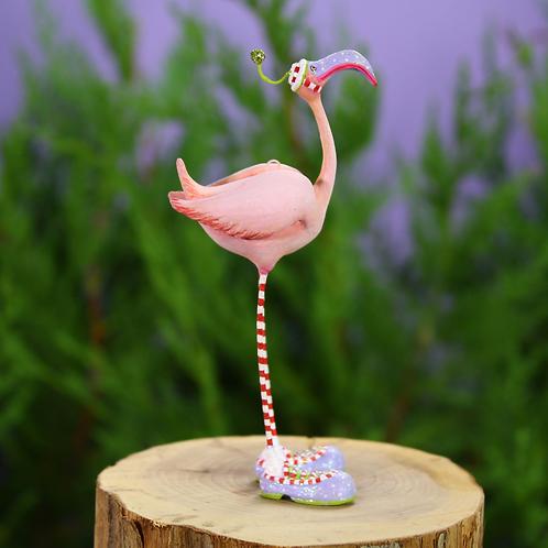 JAMBO! MINI ORNAMENT - Sheldon Flamingo