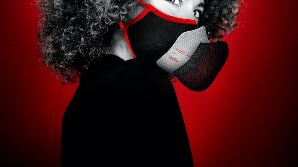 Redflag Mask – maximaler Schutz und charakteristisches Design