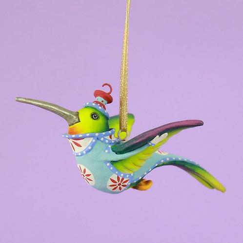 JAMBO! MINI ORNAMENT - Wizz Hummingbird