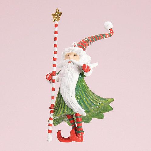 DASH AWAY MINI ORNAMENT - Santa Wizard