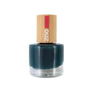 ZAO Nagellack – 666 Bleu canard
