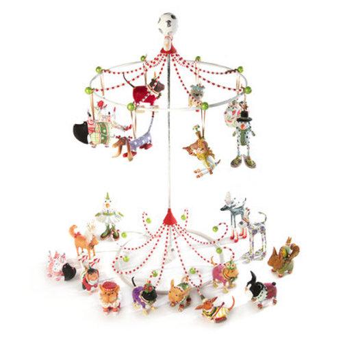 DOGS MINI ORNAMENT - Dog Mini Ornament Display Tree