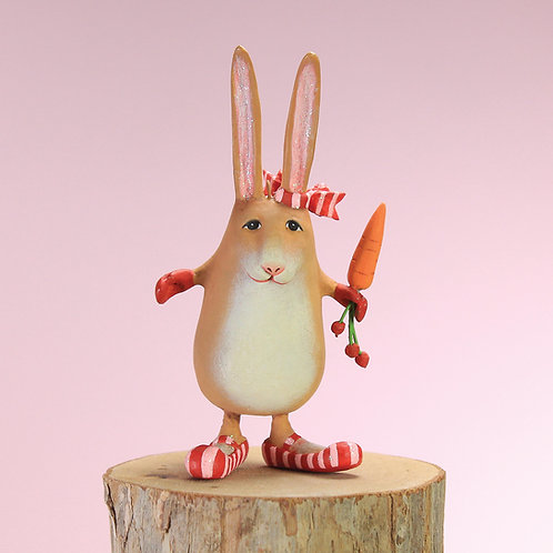 WOODLAND MINI ORNAMENT - Rebecca Rabbit