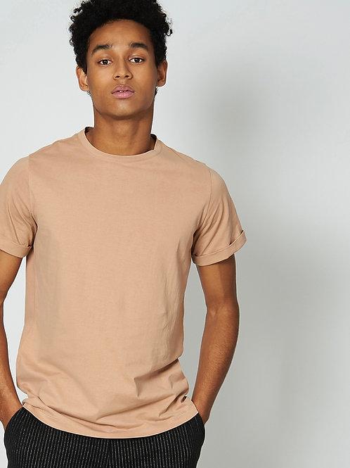 T-Shirt «BOY» in Sand