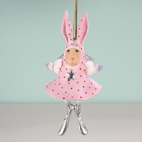 BUNNY ORNAMENT - Pandora Bunny