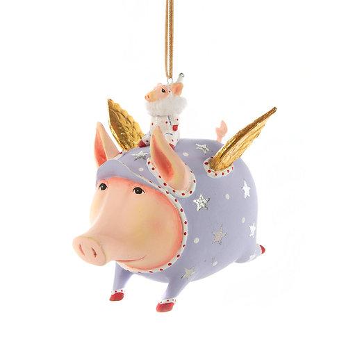 PIGS ORNAMENT - Tinkerbelle Pig