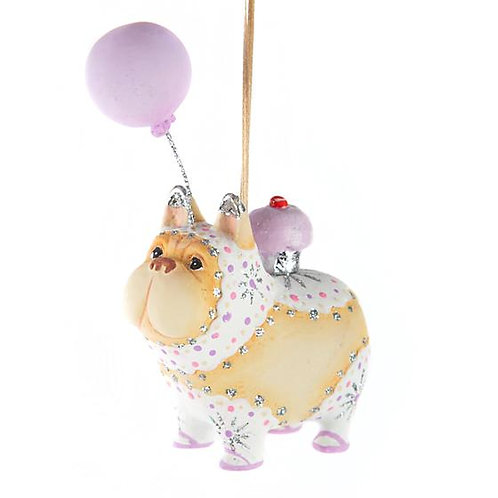 DOGS ORNAMENT - Cupcake the French Bulldog