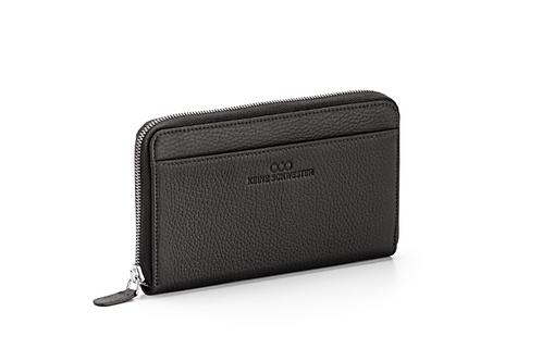 Portemonnaie «Okka» soft in Schwarz
