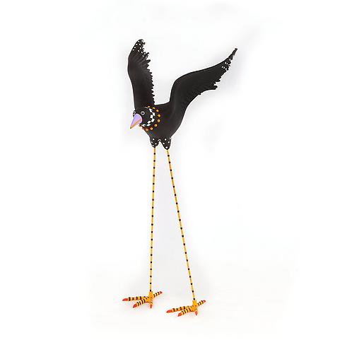 HALLOWEEN FIGUREN -  Halloween Crow Figure 2