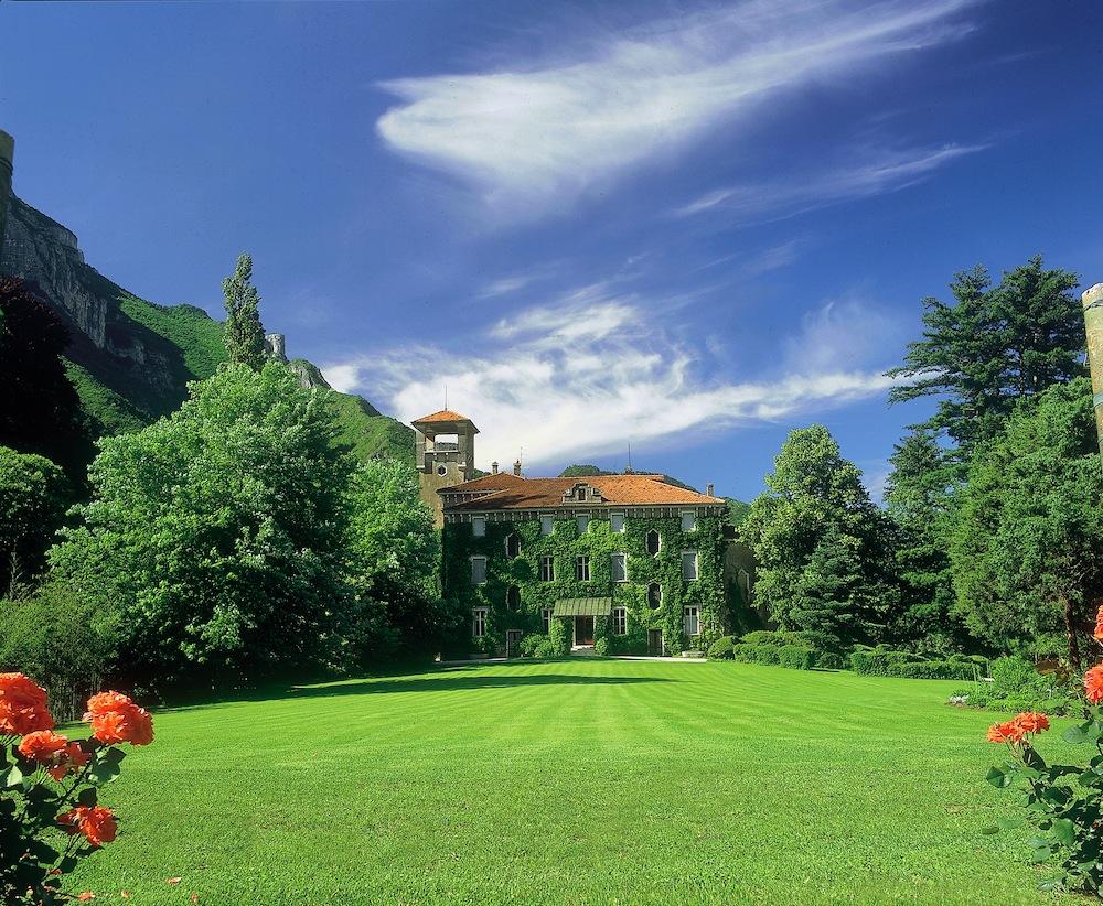 Die Villa Gresti beim Weingut