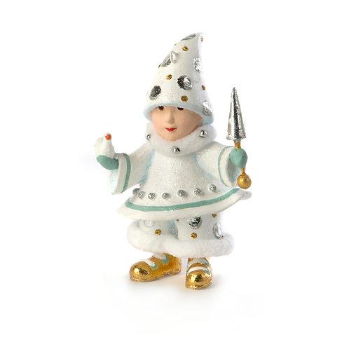 MOONBEAM ELF ORNAMENT - Blitzen's Elf