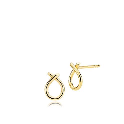 EVERYDAY OHRRINGE Silber vergoldet - 333-er Gold (8 Karat)