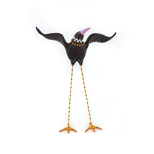 HALLOWEEN FIGUREN -  Halloween Crow Figure 1