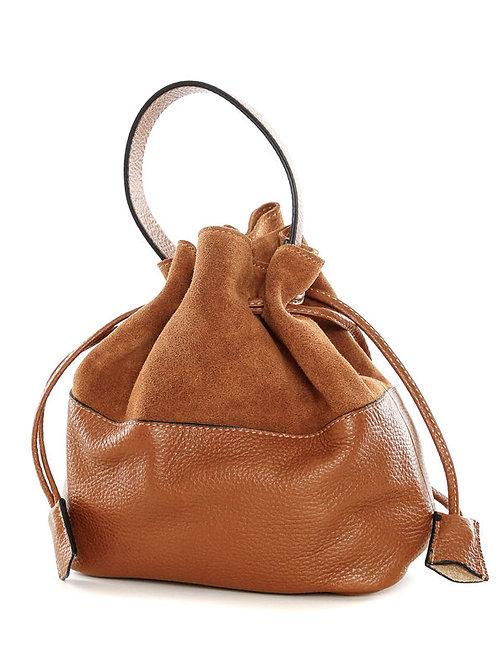 Bucket Bag «Alfa» Cognac