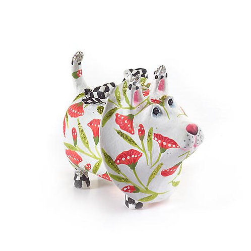 DOGS ORNAMENT - Gracie Westie Terrier