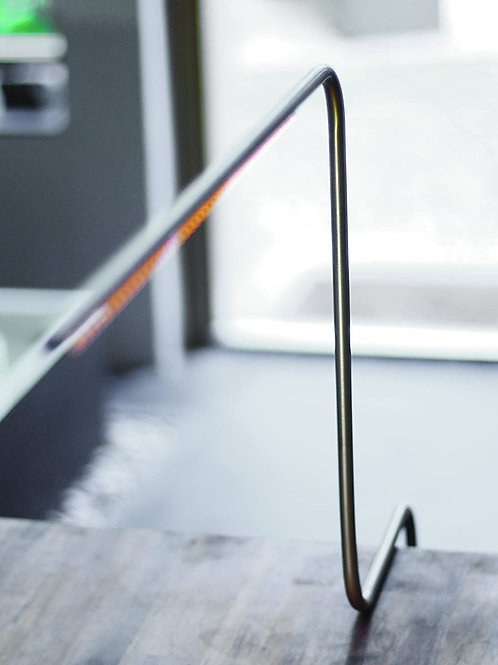 LED-Klemm-Leuchte «C.LAMP» Silber