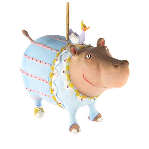 JAMBO! ORNAMENT - Hugo Hippo
