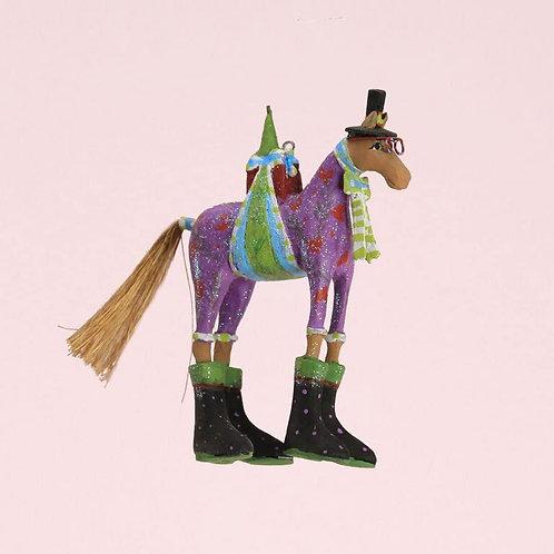 CHRISTMAS MINI ORNAMENT - Marcel Horse