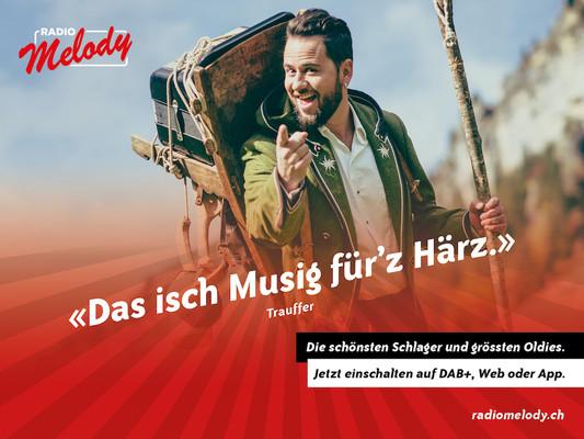 Radio Melody – «Musig fürs Herz» für die ganze Deutschschweiz