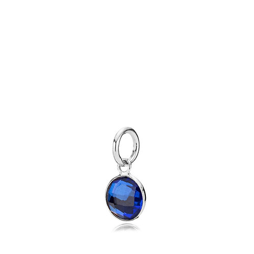 PRIMA DONNA ANHÄNGER SMALL Silber - Royalblauer Doublet Quar