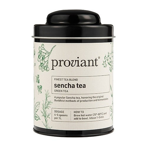 Grüntee Proviant «Sencha tea», Dose 100 gr.