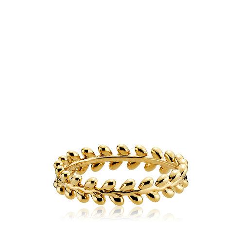 OLIVIA RING Silber vergoldet