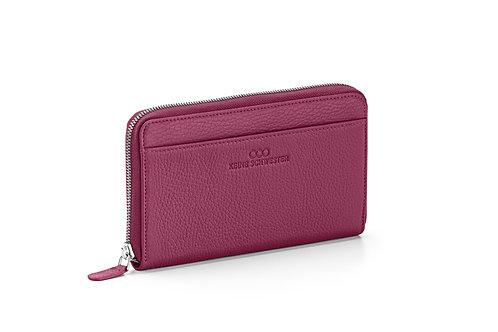 Portemonnaie «Okka» soft in Pflaume