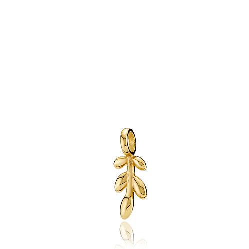 OLIVIA ANHÄNGER Silber vergoldet