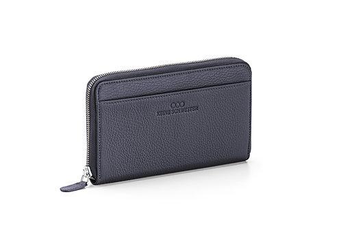 Portemonnaie «Okka» soft in Nachtblau