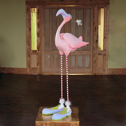 JAMBO! DISPLAY FIGUREN - Sheldon Flamingo