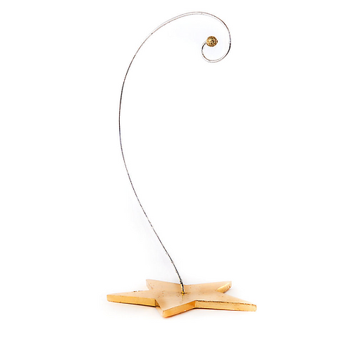 PARADISE ORNAMENT  - Paradise Star Ornament Stand with golden Star