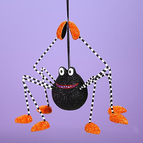 HALLOWEEN ORNAMENT - Webster Spider