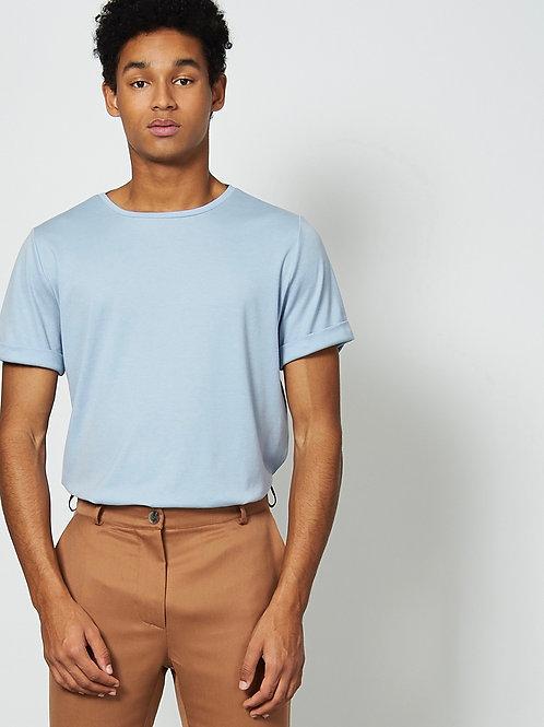 T-Shirt «BOY» in Hellblau