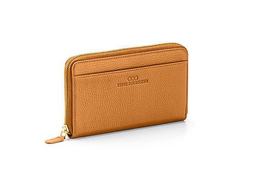 Portemonnaie «Okka» soft in Karamell
