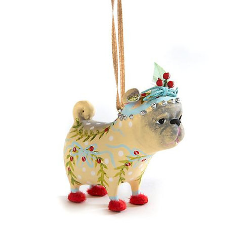 DOGS MINI ORNAMENT - Prudence Pug