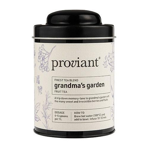 Früchtetee Proviant «Grandma's Garden», Dose 100 gr.