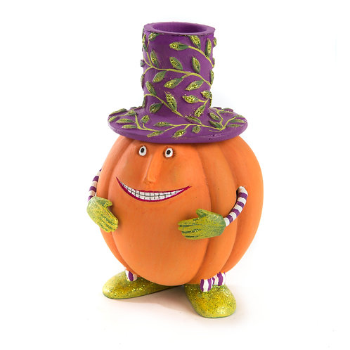 HALLOWEEN ACCESSOIRES - Peter Pumpkin Taper Candleholder