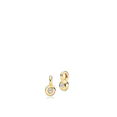 PETITE ANHÄNGER Silber vergoldet - 333-er Gold (8 Karat)