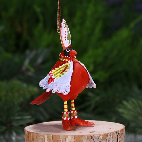 CHRISTMAS MINI ORNAMENT - Cardinal