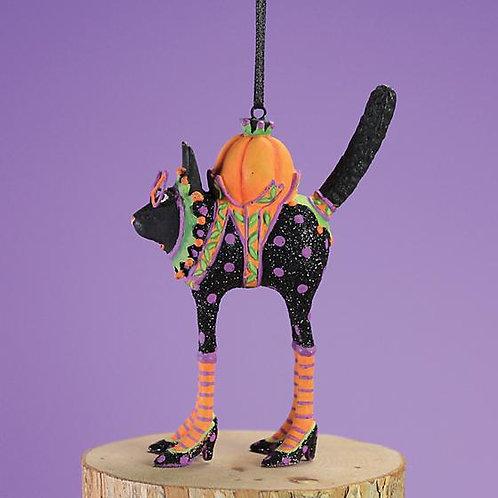 HALLOWEEN MINI ORNAMENT - Black Cat