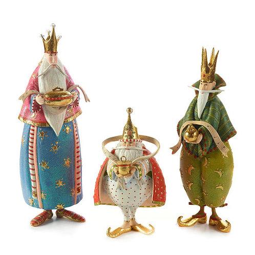 NATIVITY FIGUREN - Magi Set mit Balthasar, Melchior und Kaspar
