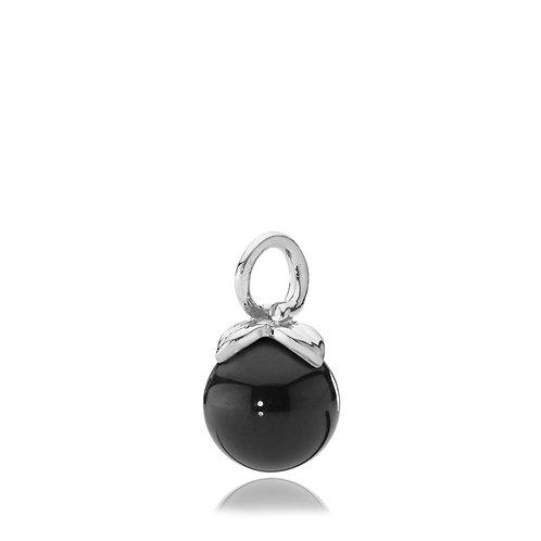 BERRY ANHÄNGER Silber - Onyx