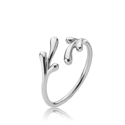 EMBRACE RING Silber