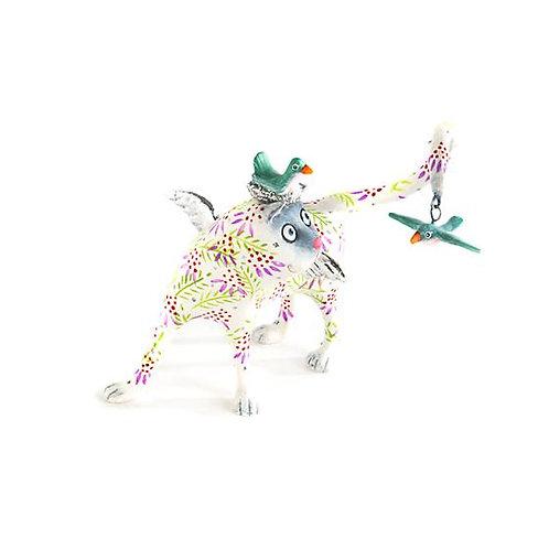 CATS ORNAMENT - Sylvie Siamese Catbird