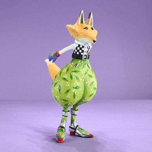 WOODLAND ORNAMENT - Funnie Fox