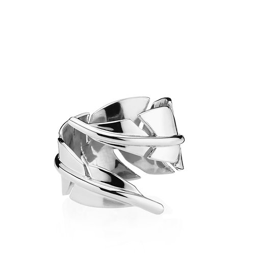 FLAWLESS RING Silber